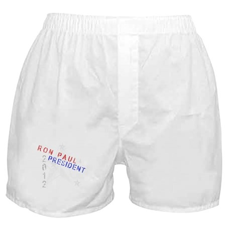 Ron Paul 4 President Boxer Shorts