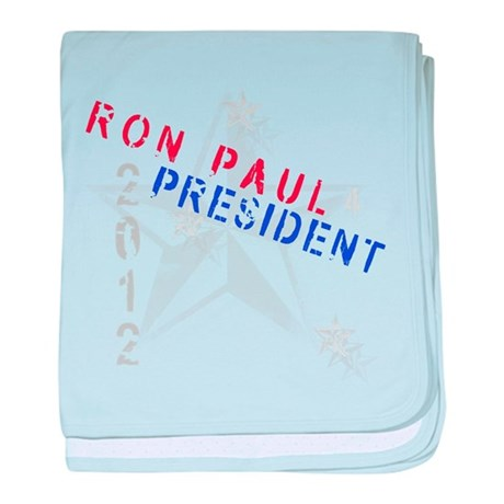 Ron Paul 4 President baby blanket