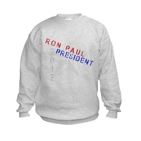 Ron Paul 4 President Kids Sweatshirt