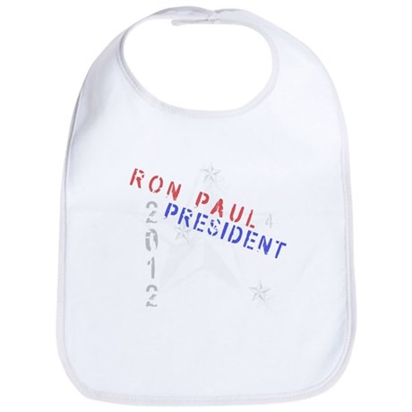 Ron Paul 4 President Bib