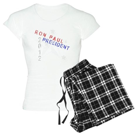 Ron Paul 4 President Women's Light Pajamas