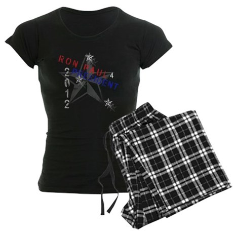 Ron Paul 4 President Women's Dark Pajamas