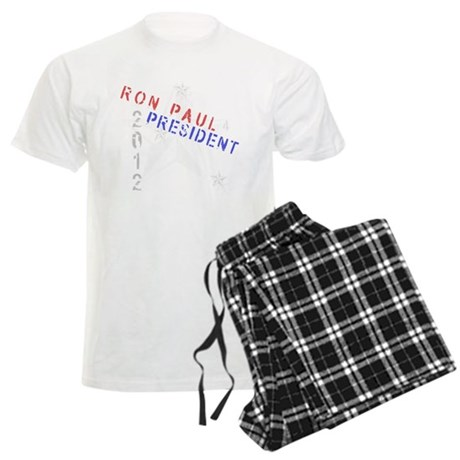 Ron Paul 4 President Men's Light Pajamas