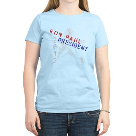 Ron Paul 4 President Women's Light T-Shirt