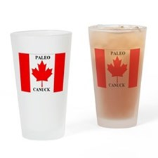 Paleo Canuck Drinking Glass