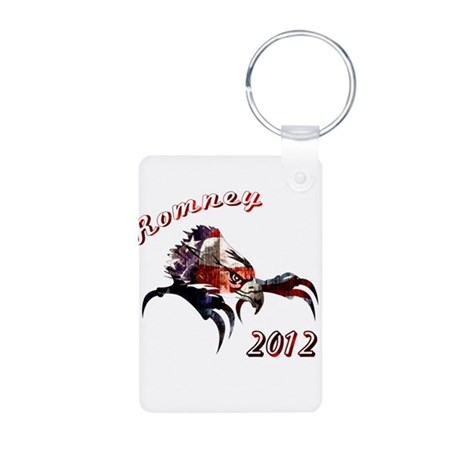Romney 2012 Aluminum Photo Keychain