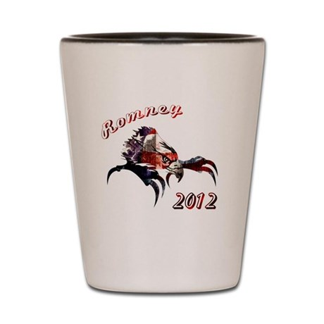 Romney 2012 Shot Glass