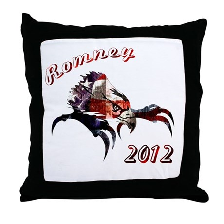 Romney 2012 Throw Pillow