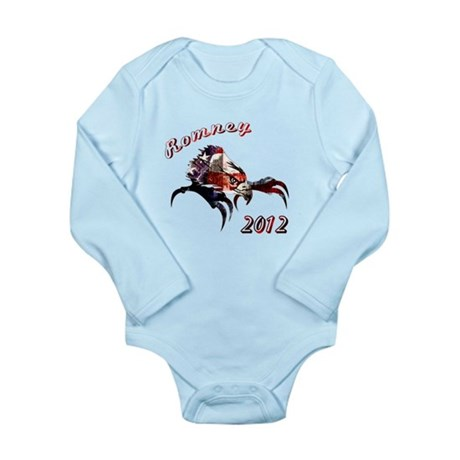 Romney 2012 Long Sleeve Infant Bodysuit