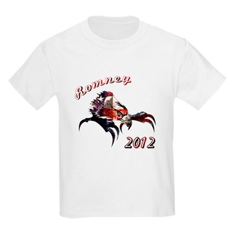 Romney 2012 Kids Light T-Shirt
