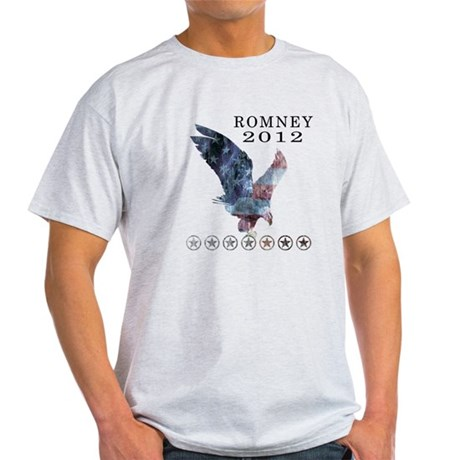 Mitt Romney 2012 Light T-Shirt