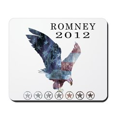 Mitt Romney 2012 Mousepad