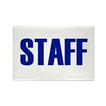 Staff Rectangle Magnet (10 pack)