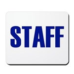 Staff Mousepad