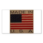 UNFADED GLORY™ Sticker (Rectangle 50 pk)