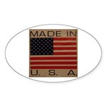UNFADED GLORY™ Sticker (Oval 10 pk)