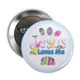 "Jesus Love Me 2.25"" Button"