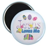 Jesus Love Me Magnet