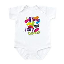 I love jelly beans Infant Bodysuit