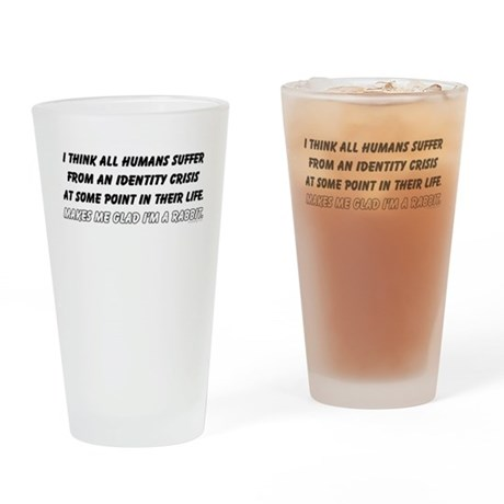 Identity Crisis Drinking Glass