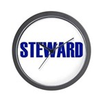 Steward Wall Clock