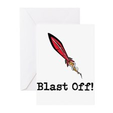 Blast Off! Greeting Cards (Pk of 10)
