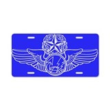 Cool Sensor operator Aluminum License Plate