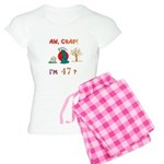 AW, CRAP! I'M 47? Gift Women's Light Pajamas