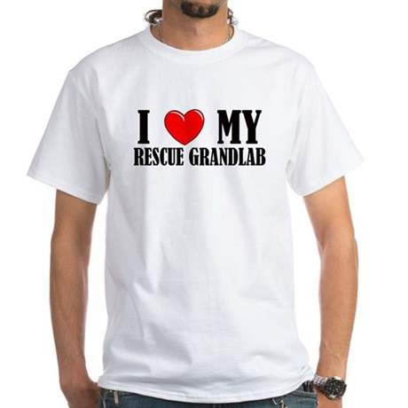 Rescue Grandlab White T-Shirt