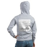 I Am a Marathoner Zip Hoody