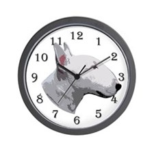 Bull Terrier 2 Wall Clock