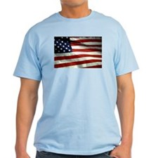 Stars n Stripes Ash Grey T-Shirt