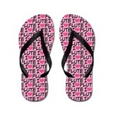Flute Music Flip Flops