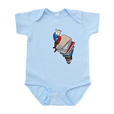 Tower of Books Infant Bodysuit