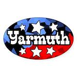 Oval John Yarmuth for Congress Sticker