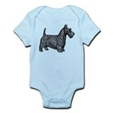 Scottish Terrier Infant Bodysuit