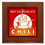 Chili Framed Tile