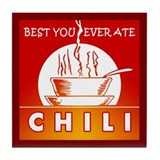 Chili Tile Coaster