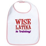 Wise Latina In Training Bib