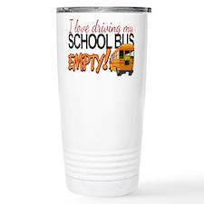 Bus Driver - Empty Bus Thermos Mug