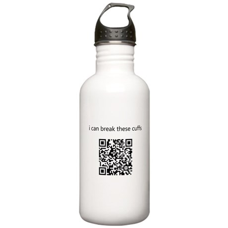 I Can Break These Cuffs Stainless Water Bottle 1.0