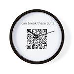 I Can Break These Cuffs Wall Clock
