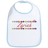Zariah with Flowers Bib