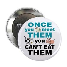 "Animal Compassion 2.25"" Button (10 pack)"