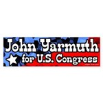 John Yarmuth for Congress Bumpersticker