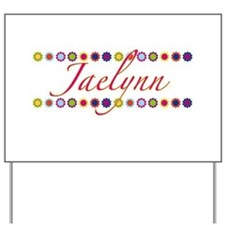 Jaelynn with Flowers Yard Sign
