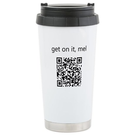 Get On It Mel Ceramic Travel Mug