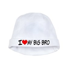 I Love My Big Bro Baby Hat