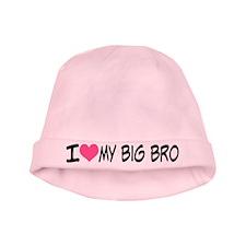I Heart My Big Bro Baby Hat