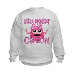Little Monster Caitlin Kids Sweatshirt